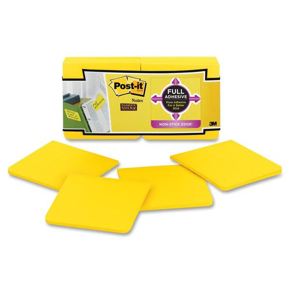 Post it Super Sticky Full Adhesive Notes