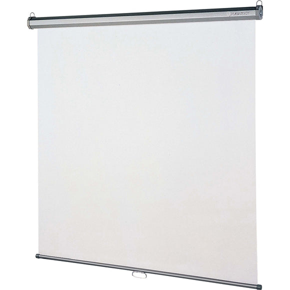 Quartet Manual Projection Screen   1:1   Wall Ceiling Mount
