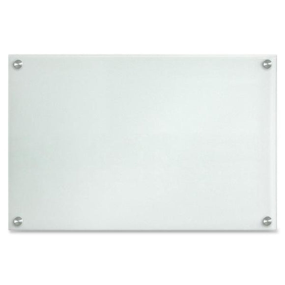 Lorell Dry Erase Glass Board 24in x 14in