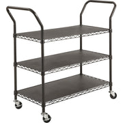 Safco 3 shelf Wire Utility Cart
