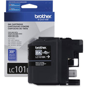 Brother Ink Cartridge Black - Inkjet - Standard Yield - 300 Pages - 1 Each -LC 101