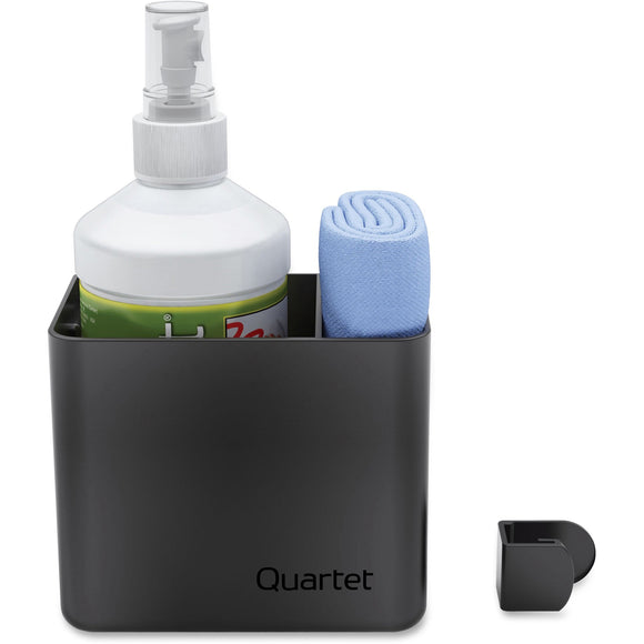 Quartet Prestige 2 Connects&trade Cleaning Dry Erase Kit  Caddy  16 oz. Bottle & Magnetic Cloth