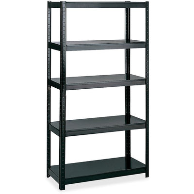 Safco Boltless Steel Shelving Storage Unit Wrkbnch
