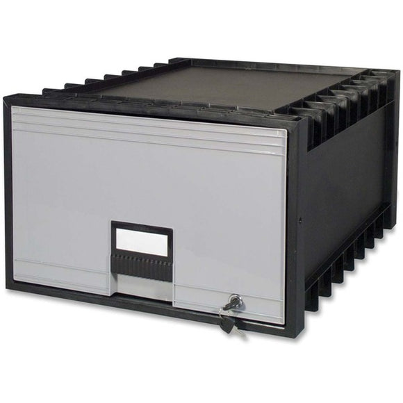 Storex Stackable Poly Legal Archive Drawer