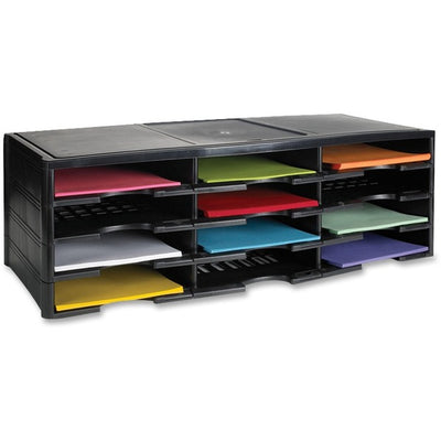 Storex 12 Compartment Litreature Organizers