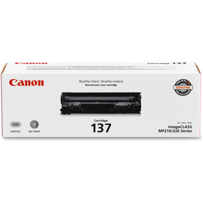 Canon 137 Original Toner Cartridge - Laser - 2400 Pages - Black
