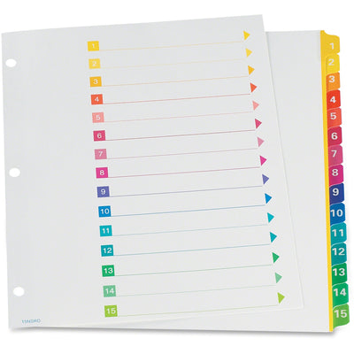 TOPS RapidX Colour Coded Index Dividers