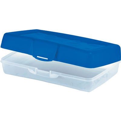 Storex Carrying Case School Stationery   Blue