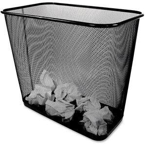 Winnable Rectangular Mesh Wastebasket