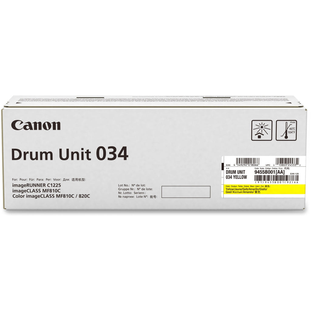 Canon 034 Imaging Drum - 34000 - 1 Each