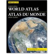 CCC World Atlas Student Edition Travel Printed Book