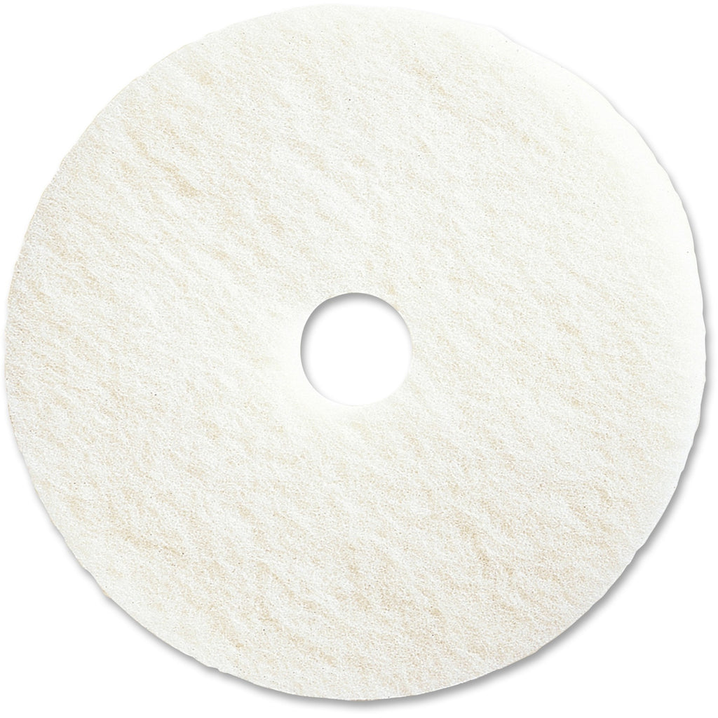 Genuine Joe 20in Super White Floor Pad