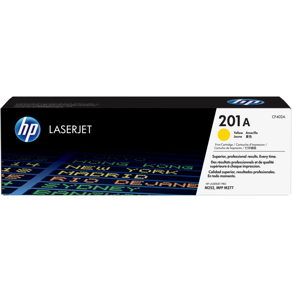 HP 201A Original Toner Cartridge - Single Pack - Laser - 1400 Pages - Yellow - 1 Each