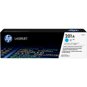HP 201A Original Toner Cartridge - Single Pack - Laser - 1400 Pages - Cyan - 1 Each