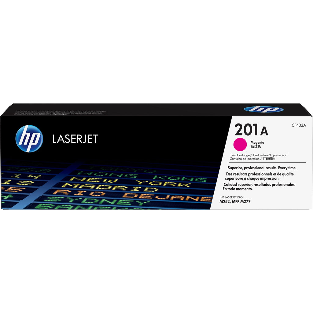HP 201A Original Toner Cartridge - Single Pack - Laser - 1400 Pages - Magenta - 1 Each