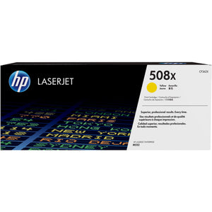 HP 508X Original Toner Cartridge - Single Pack - Laser - High Yield - 9500 Pages - Yellow - 1 Each