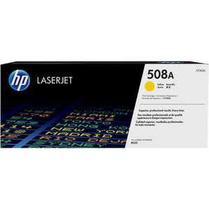 HP 508A Original Toner Cartridge - Single Pack - Laser - 5000 Pages - Yellow - 1 Each