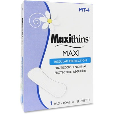 Maxithins Sanitary Napkins - 250/Carton