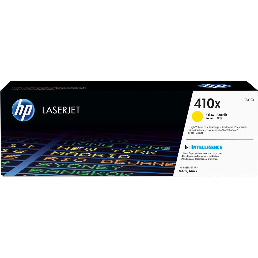 HP 410X Original Toner Cartridge - Single Pack - Laser - High Yield - 5000 Pages - Yellow - 1 Each