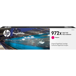 HP 972X Original Ink Cartridge - Single Pack - Page Wide - High Yield - 7000 Pages - Magenta - 1 Each