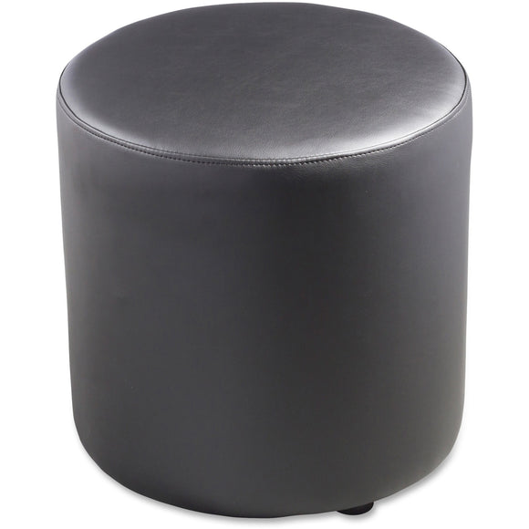 Lorell Leather Cylinder Ottoman