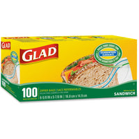 Glad Sandwich Zipper Bags