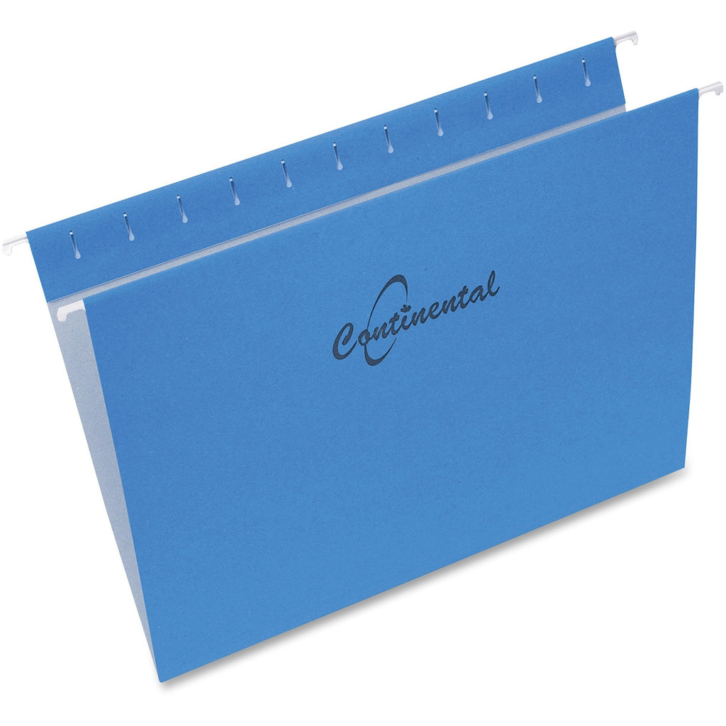 Continental Letter Size Hanging Folders 25PK