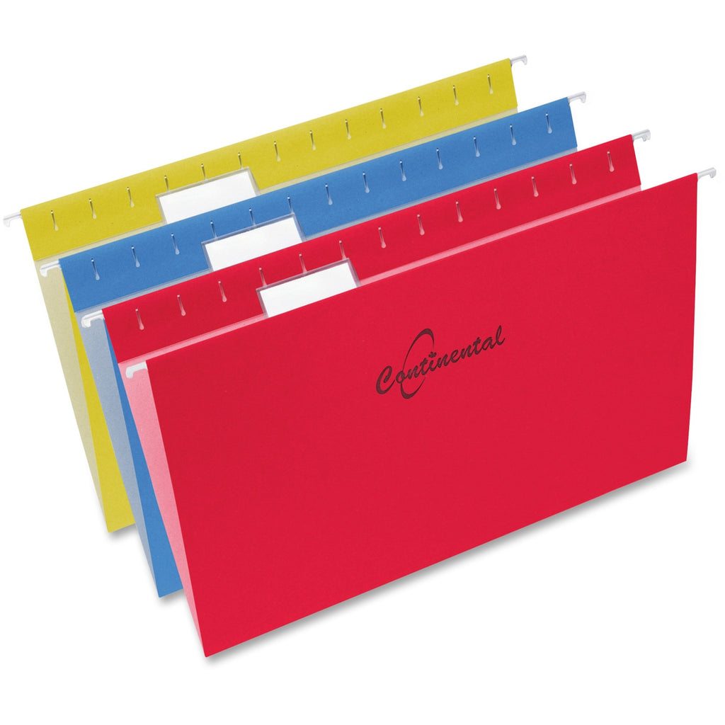Continental 1/5 cut Tabs Legal Sz Hanging Folders 25PK