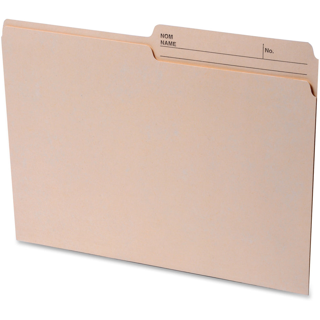 Continental 2 sided Tab Letter File Folders 100PK