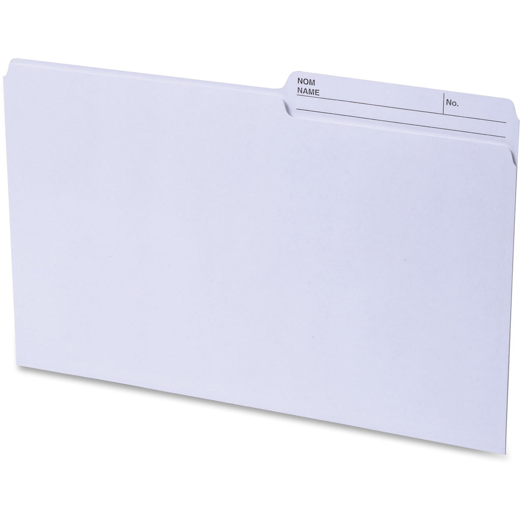Continental 2 sided Tab Legal File Folders 100PK