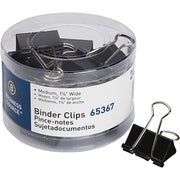 Business Source Medium 24 count Binder Clips 24PK