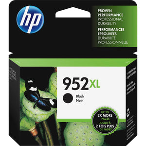 HP 952XL Original Ink Cartridge - Single Pack - Inkjet - High Yield - 2000 Pages - Black - 1 Pack