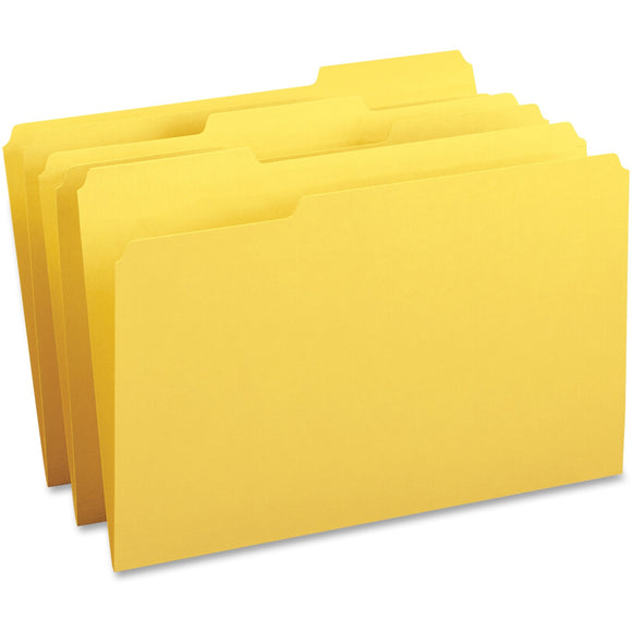Business Source 1 3 cut Tab Legal Colored File Folders