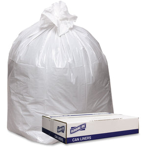 Genuine Joe Extra Heavy duty White Trash Can Liners