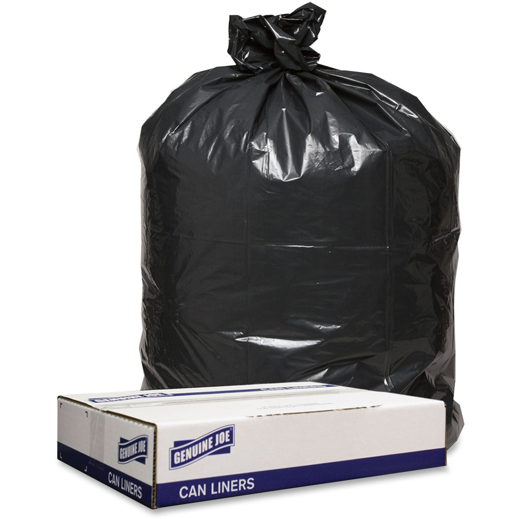 Genuine Joe 1.6 mil Trash Can Liners