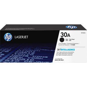HP 30A Original Toner Cartridge - Single Pack - Laser - 1600 Pages - Black