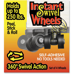 RollArounds Instant Swivel Wheels