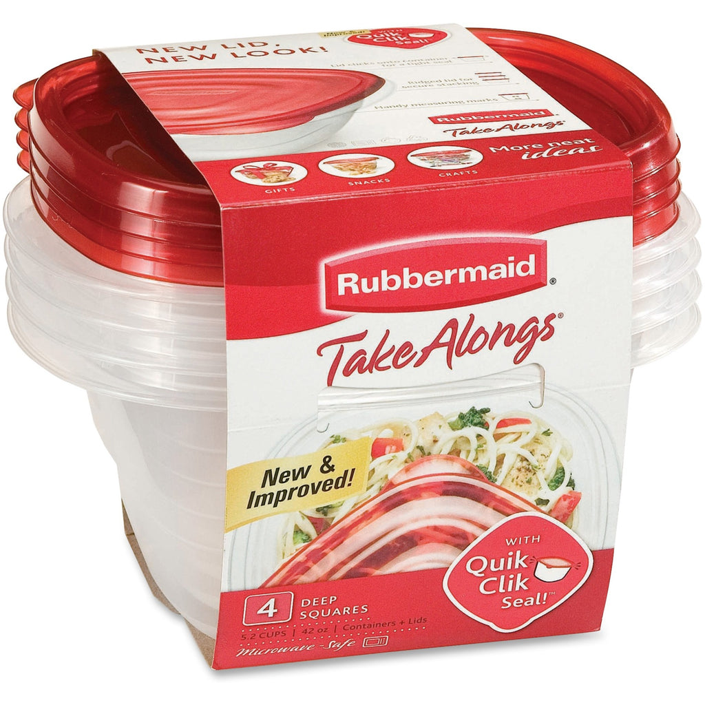 Rubbermaid 1 Gal TakeAlongs Food Containers