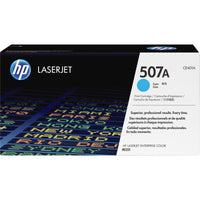 HP 507A Original Toner Cartridge - Single Pack - Laser - 6000 Pages - Cyan - 1 Each
