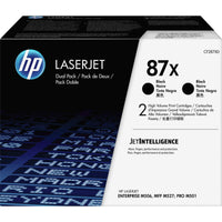 HP 87X (CF287XD) Toner Cartridge - Black - Laser - High Yield - 36000 Pages - 2 / Box