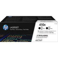 HP 410X Original Toner Cartridge - Black - Laser - High Yield - 6500 Pages (Per Cartridge) - 2 / Box