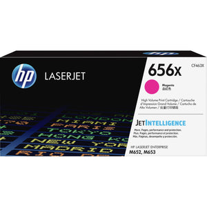 HP 656X (CF463X) Toner Cartridge - Magenta - Laser - High Yield - 22000 Pages - 1 Each