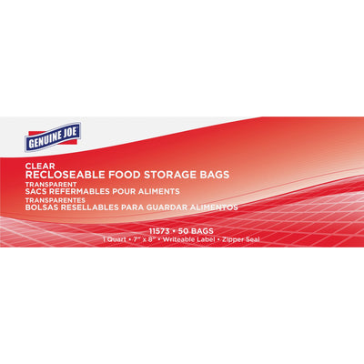 Genuine Joe Food Storage Bags