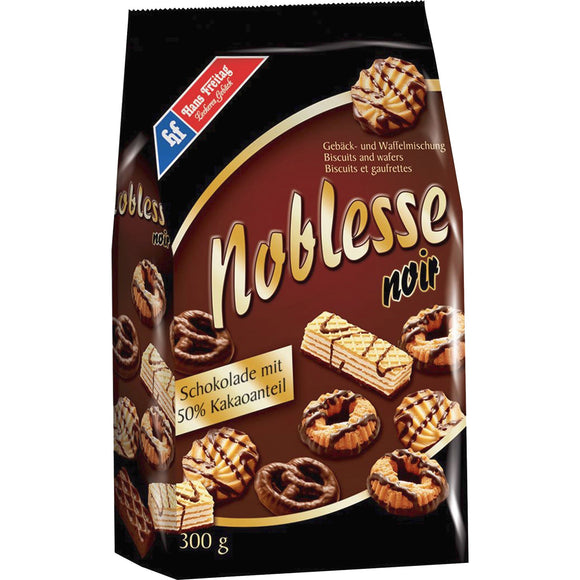 Hans Freitag Elco Noblesse Noir Assorted Biscuits Wafers