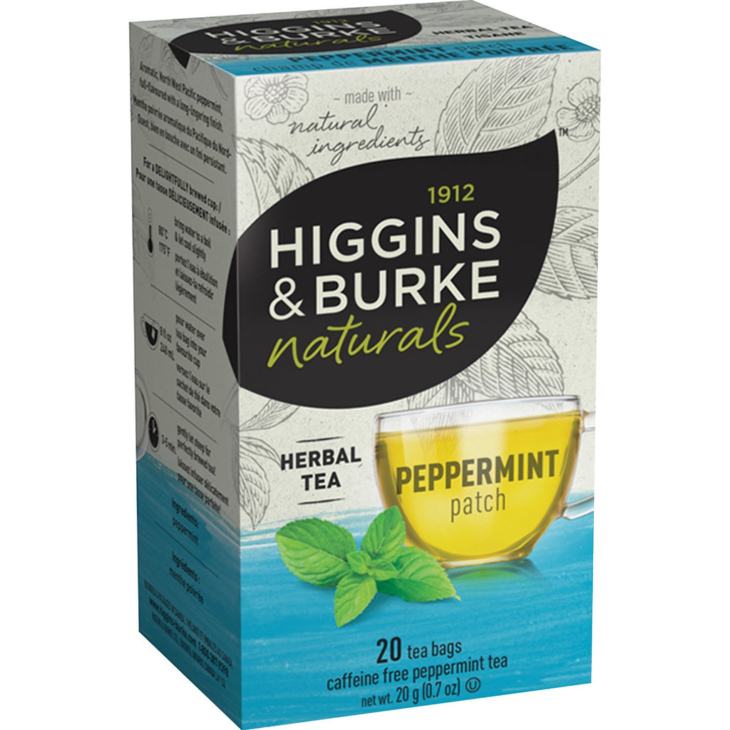 Higgins & Burke Naturals Peppermint Herbal Tea