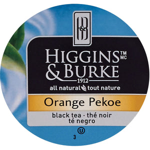 Higgins & Burke Naturals Natural Orange Pekoe Black Tea K Cup