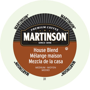 Martinson House Blend Medium Roast Coffee K Cup