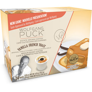 Wolfgang Puck Vanilla French Toast Coffee OneCup