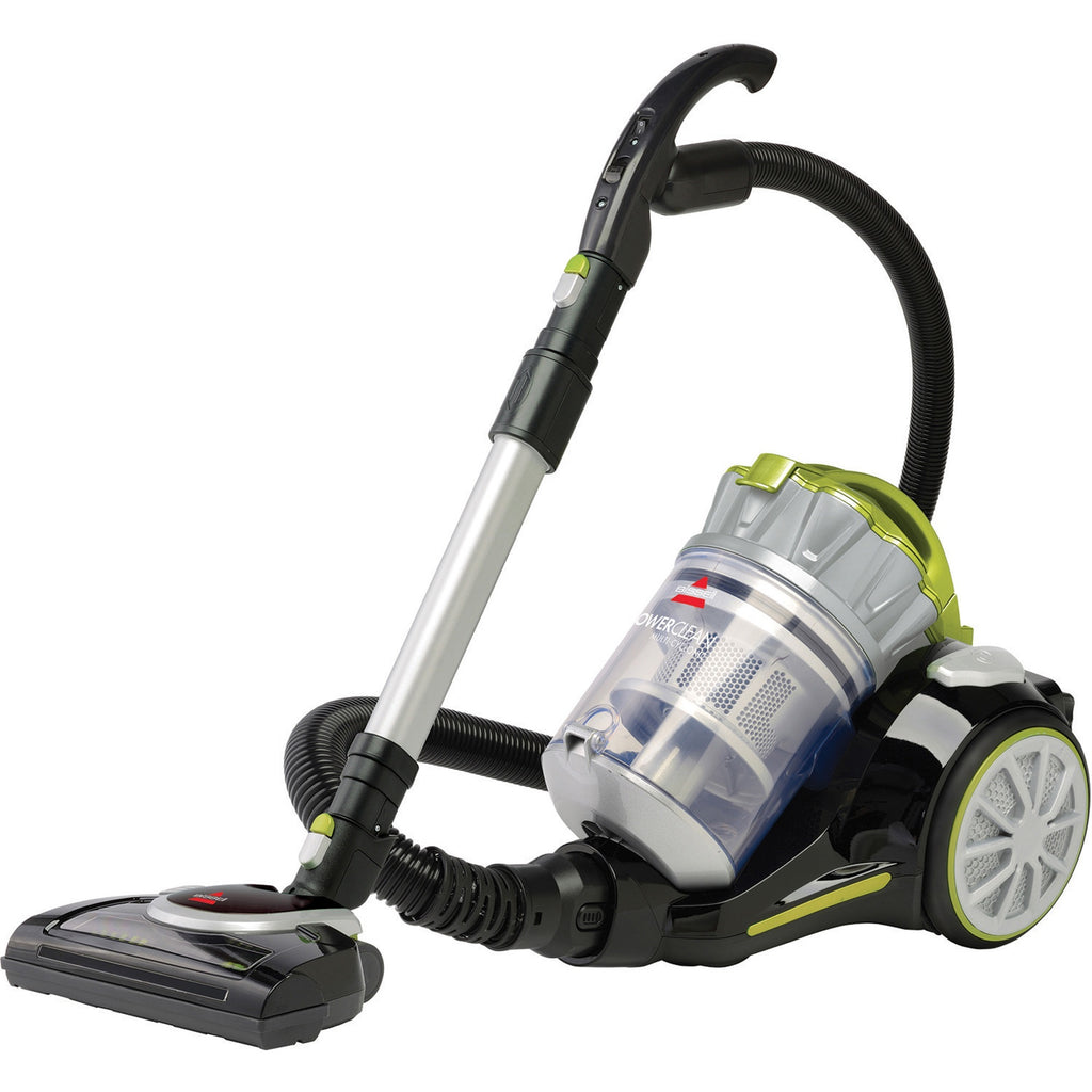 BISSELL PowerClean Multi Cyclonic Canister Vacuum w  Motorized Power Foot 1654C