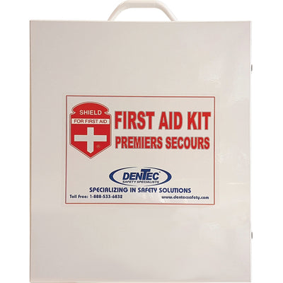 Impact Products Workplace First Aid Kit in Metal Box - 1 Each